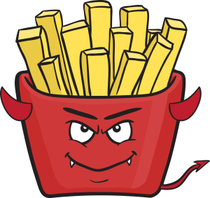 evil french fries